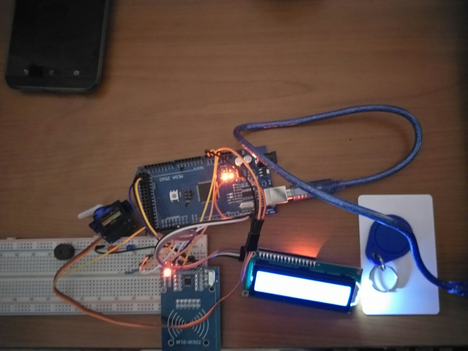 RFID Otomatik Kapı Kilidi