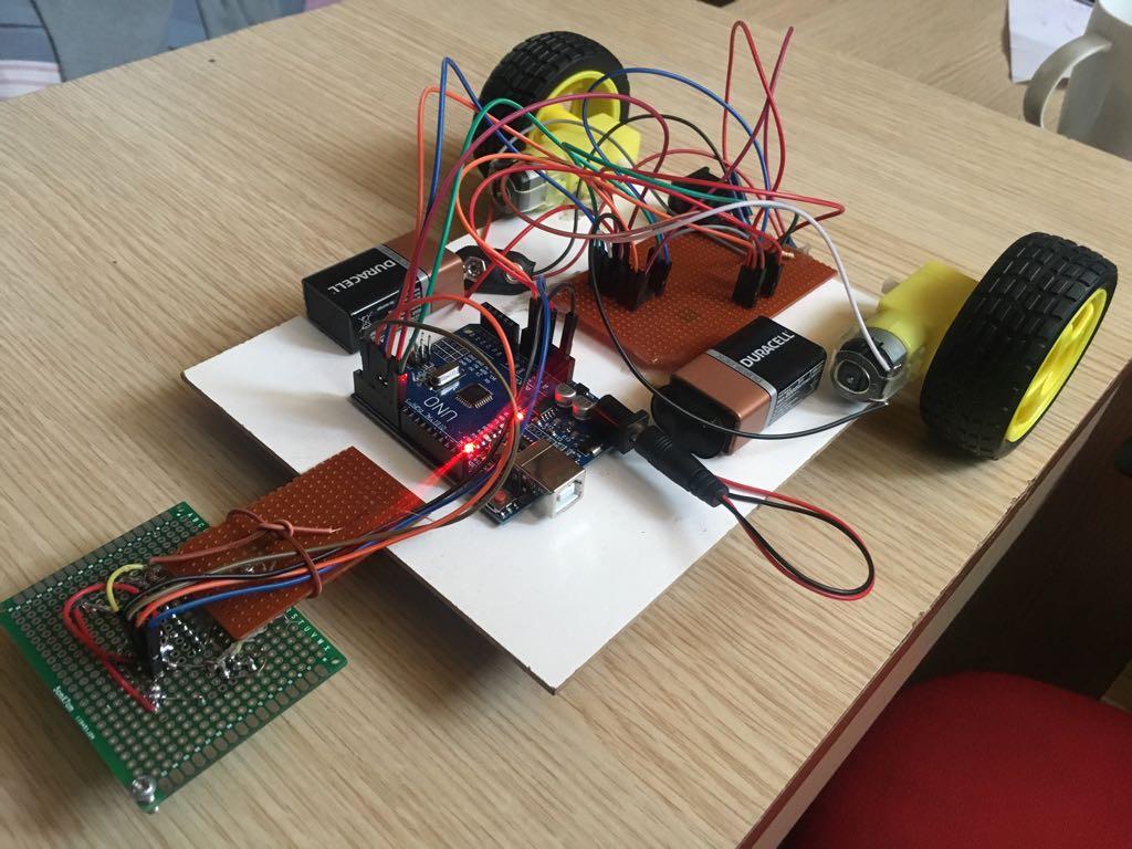How to Make a Line Follower Robot in 10 Minutes(Çizgi İzleyen Robot)