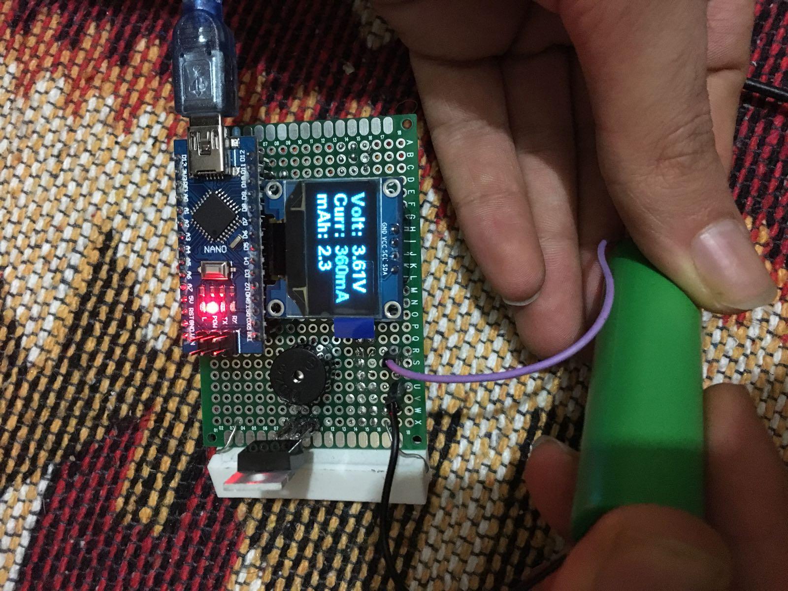 Arduino ile Lityum Pil Kapasite Test Cihazı