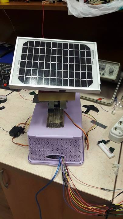 Solar Mobile Phone Charger Circuit
